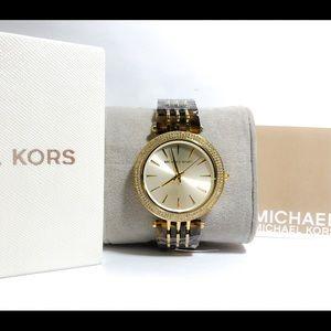 NWT Michael Kors Darci Ladies Watch